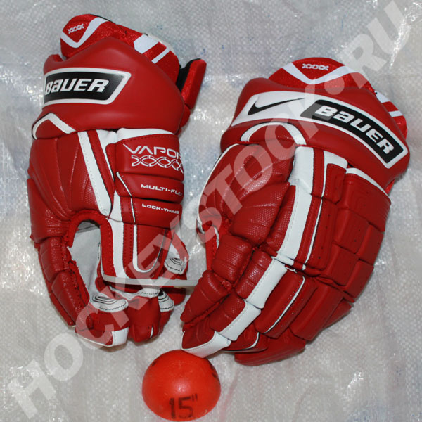 Nike Bauer Vapor XXX Pro Hockey Gloves- Senior